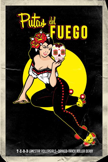 Putas Del Fuego Card