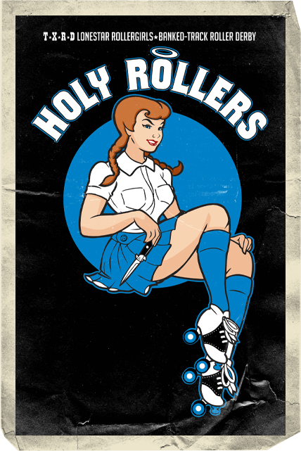 Holy Rollers Card
